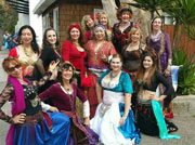 Local belly dancers group