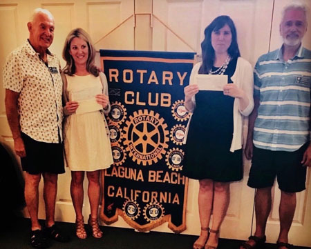 Rotary provides group