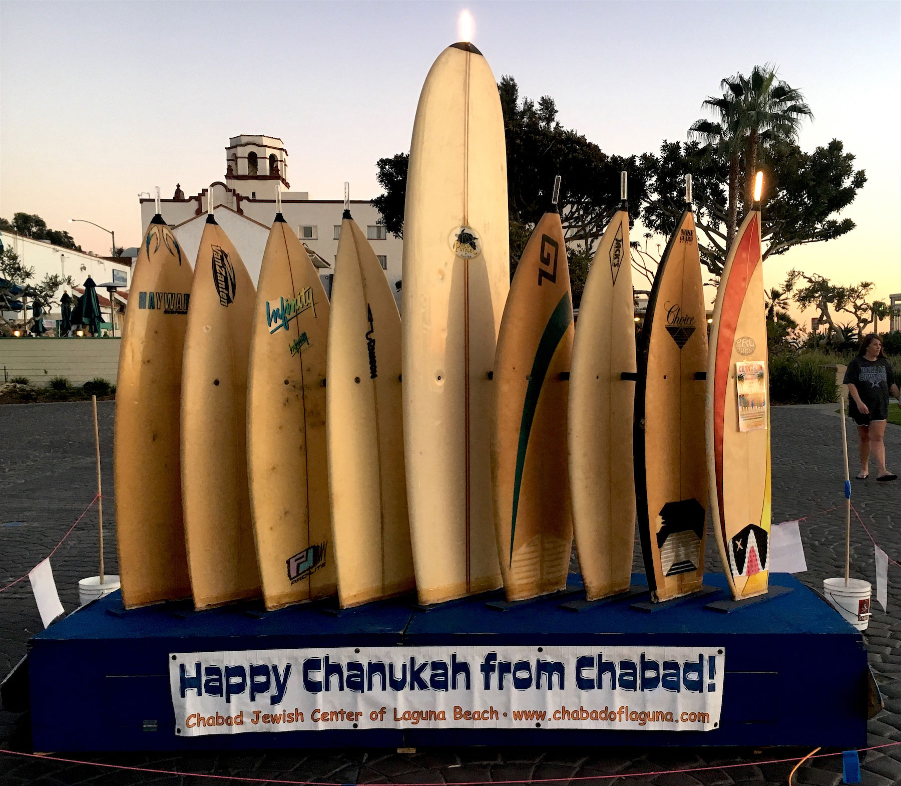 Chabad announces Chanukah