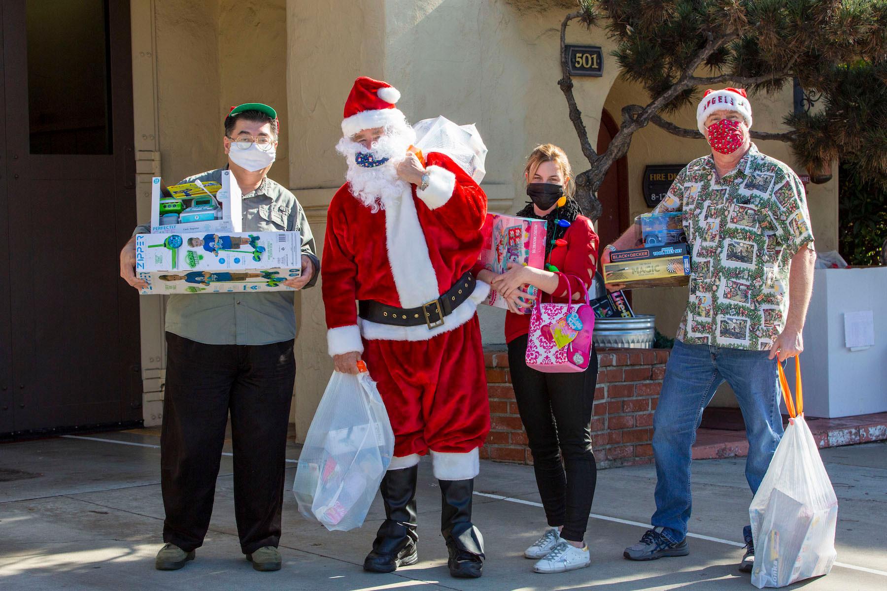 10 Mrs Grossmans Bright Santa Stickers Christmas Ho St Nick Toys Sack Father