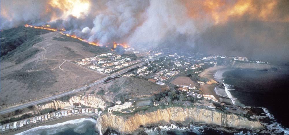 climate 1993 fires