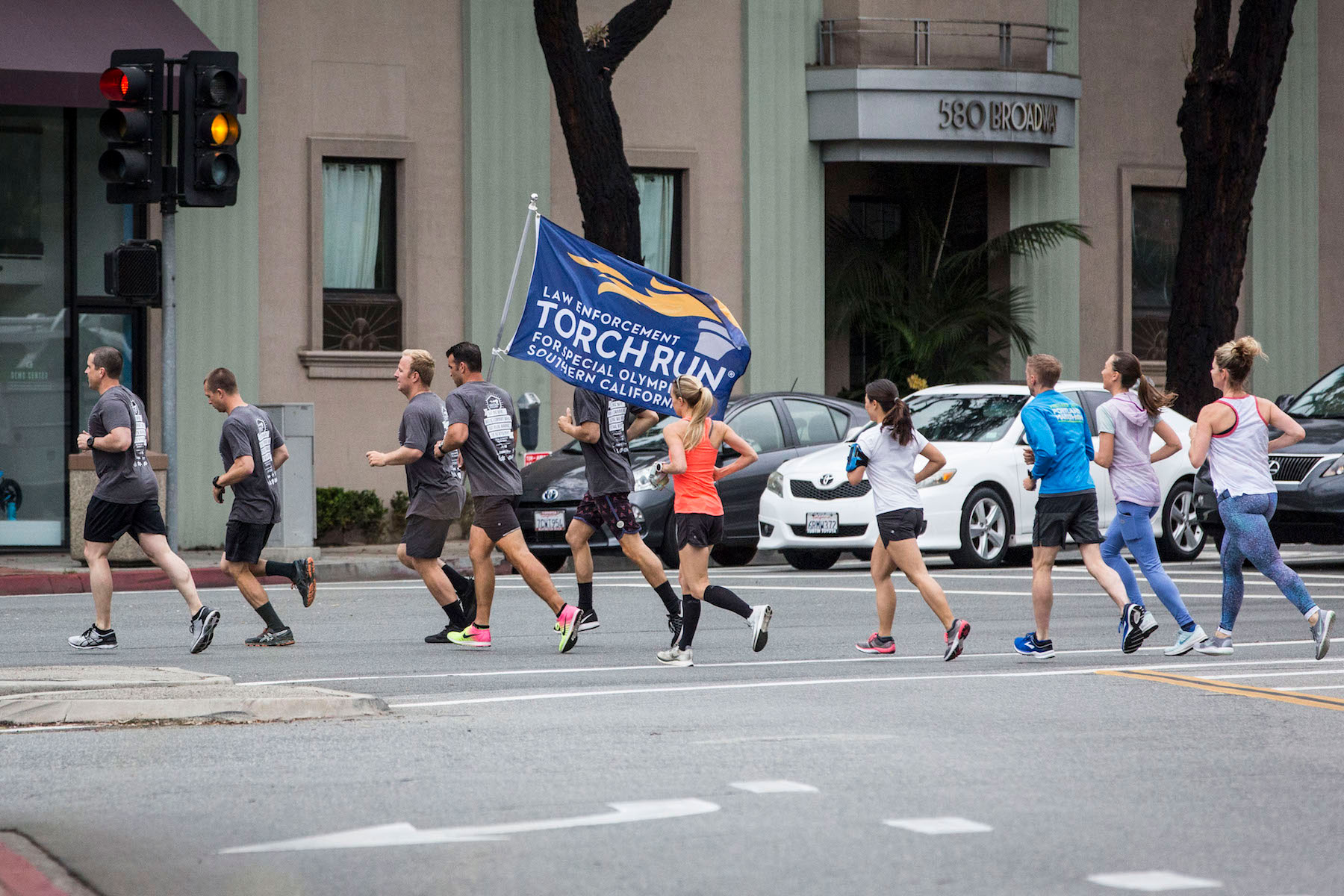 Police Files Torch Run 1
