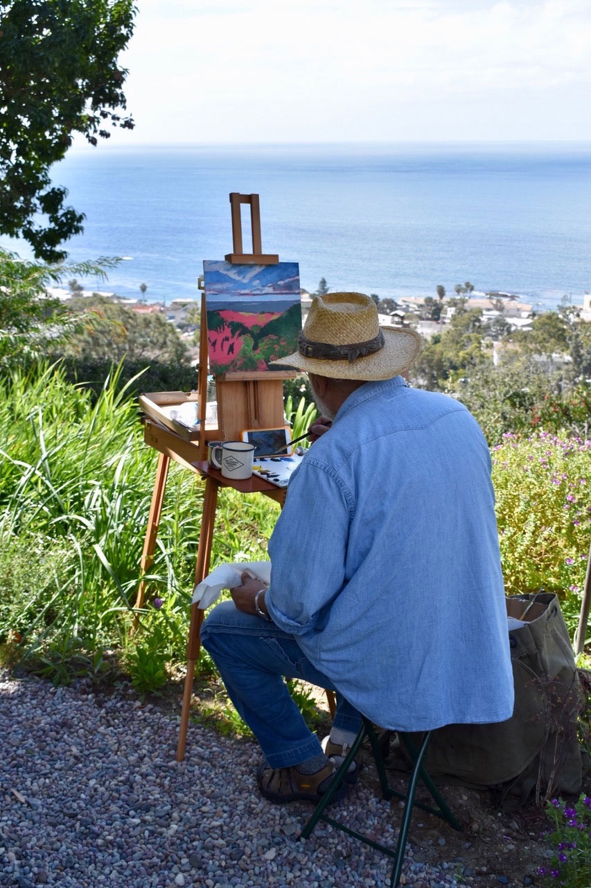 free summer painting