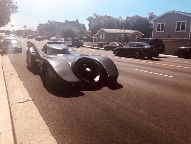 Batman comes Batmobile