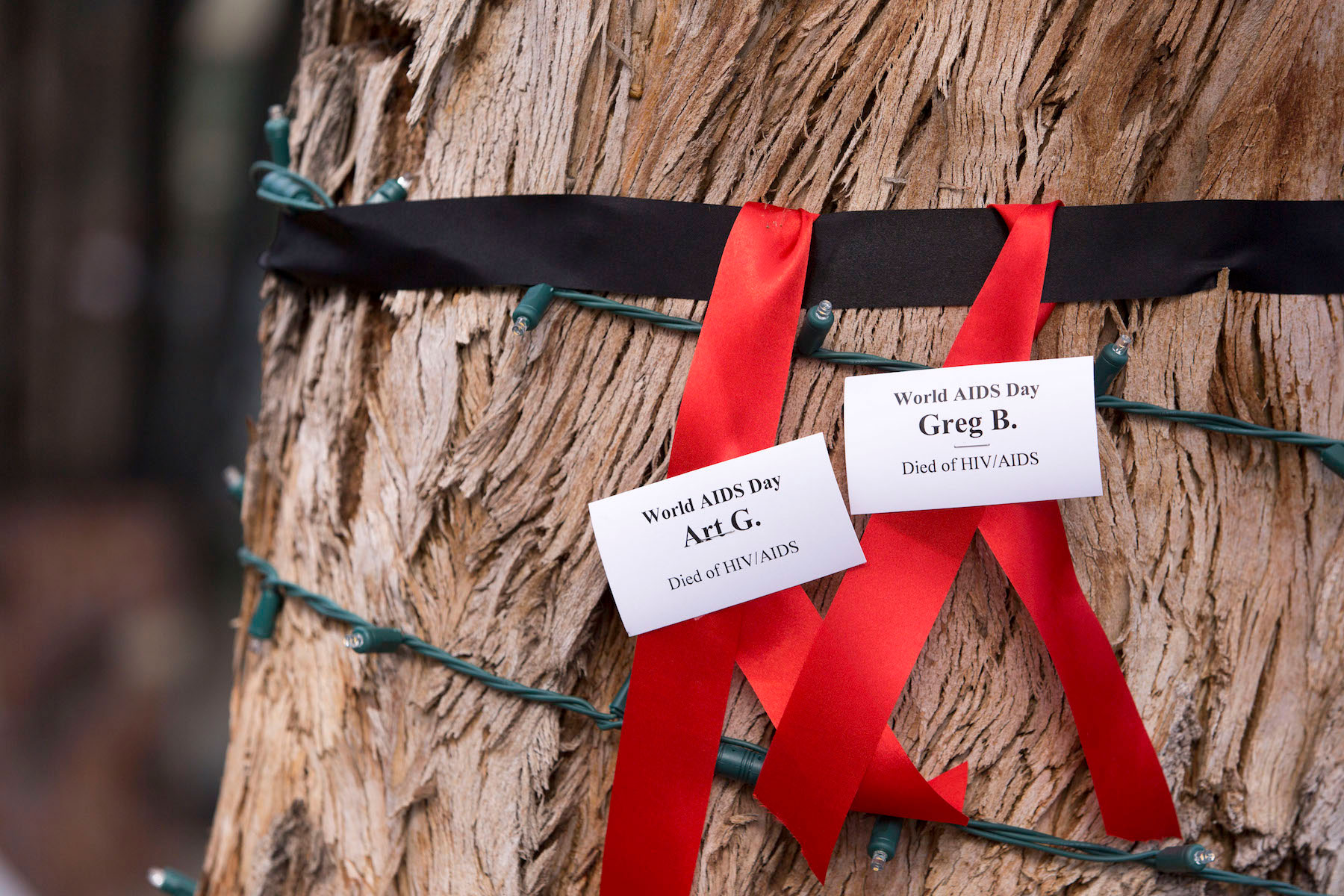 Communities make two ribbons