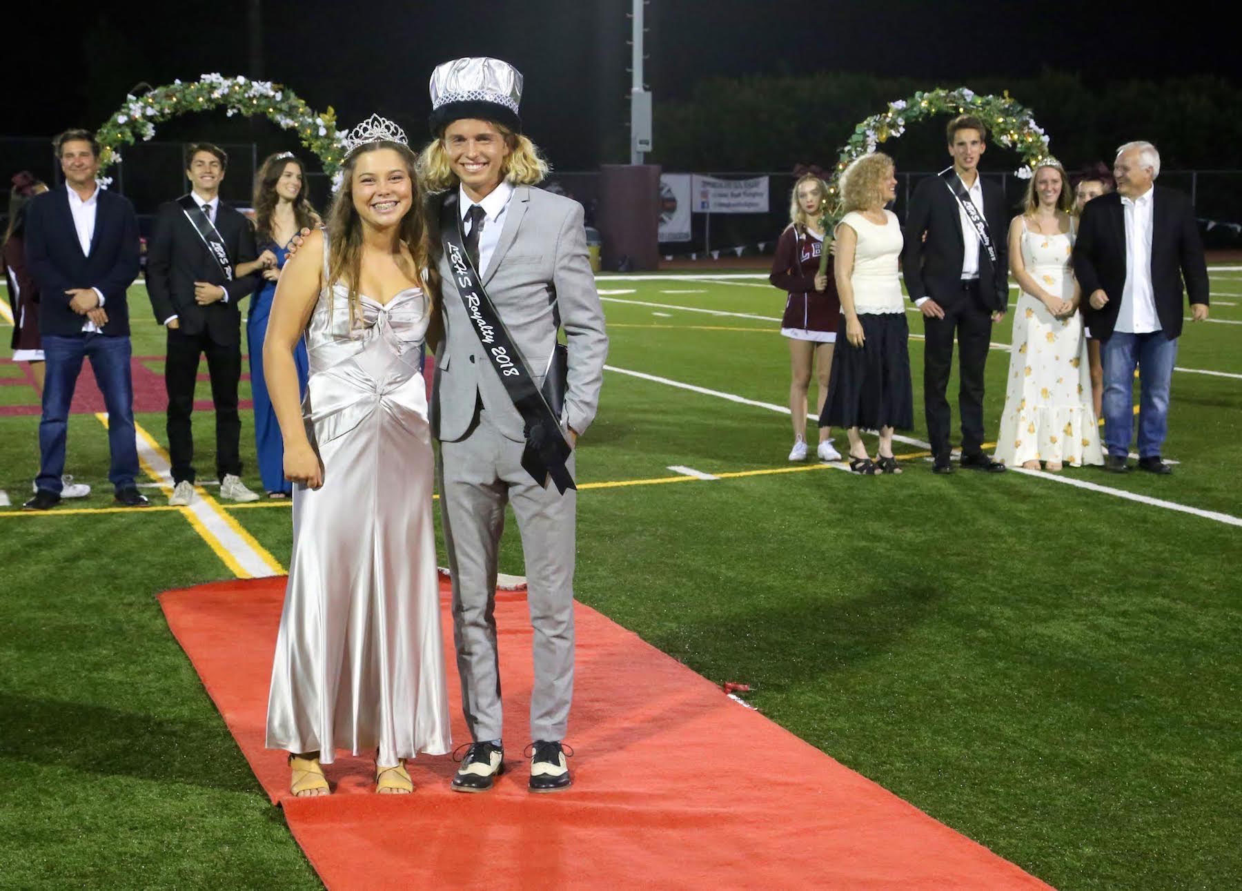 Homecoming 2018 king and queen